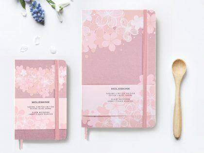 Moleskin sakura notebook