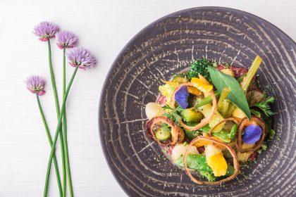 Michelin star Vegetarian cuisine