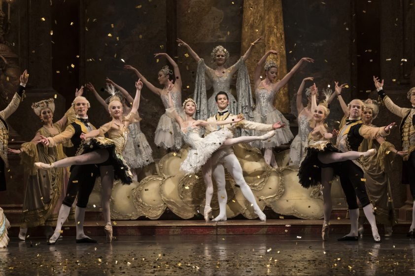 Sleeping Beauty at the Birmingham Royal Ballet