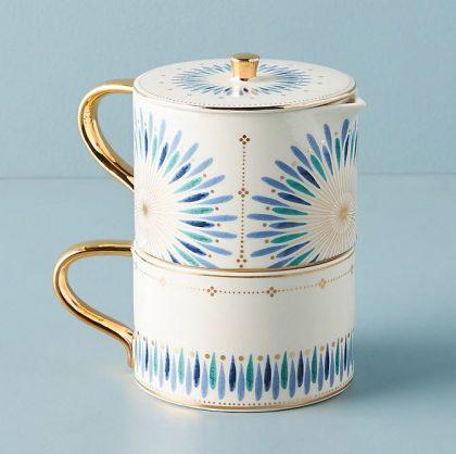 Whitney Tea Set for One