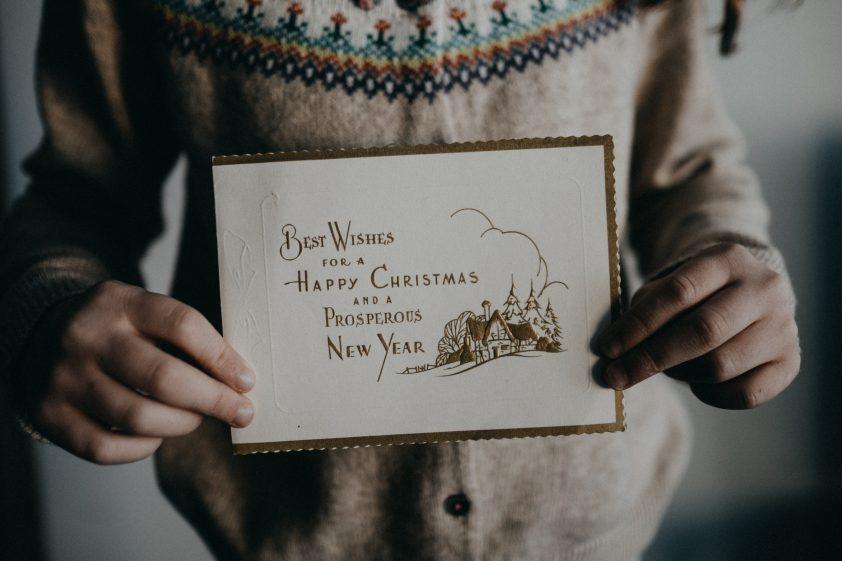 Christmas Wishes on Christmas Card