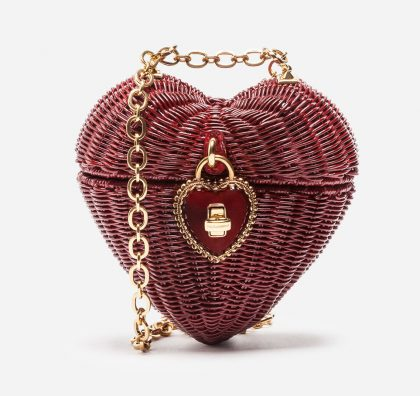 d&g heart shaped bag