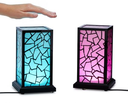 Long distance touch lamps