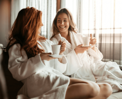 Mother daughter spa day Waldorf Astoria Spa