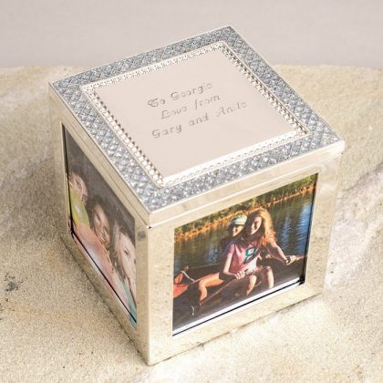 Personalised trinket box gift for Grandma