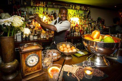 Premium rum tasting at Merchant House