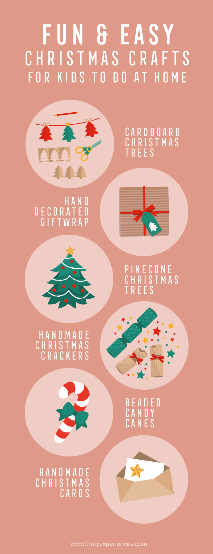 15 Fun & Easy Christmas Crafts For Kids To Do At Home