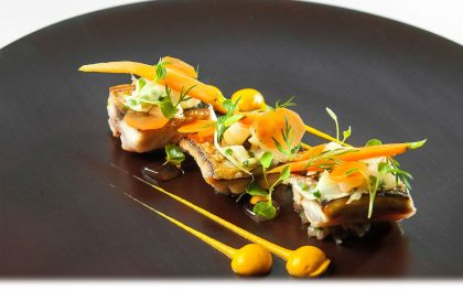 Michelin star lunch at Pied a Terre