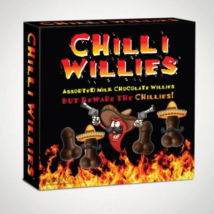 Chocolate Chilli Willies for funny Secret Santa gift