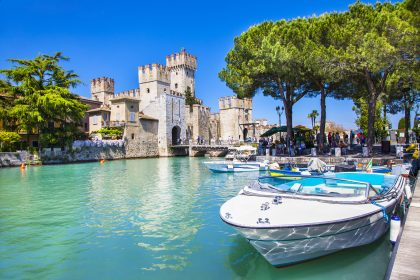 Luxury sailing on Lake Garda, Italy