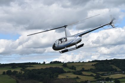Countryside helicopter tours