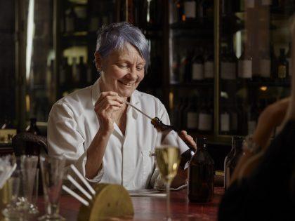 Floris perfumer creating bespoke perfume