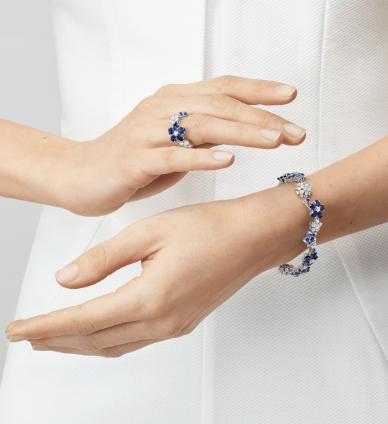Folie des Prés sapphire bracelet