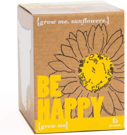 Grow Me: Be Happy Sunflowers