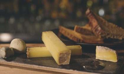 Cheese and French nibbles at Baranis