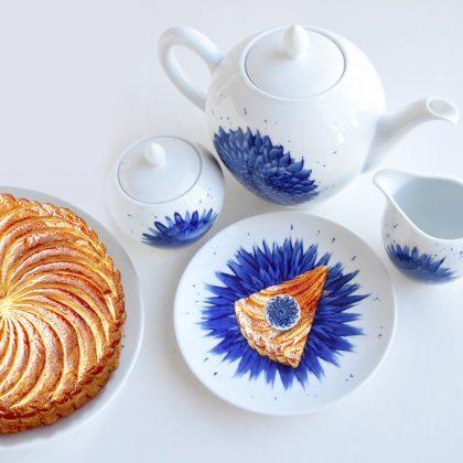 In Bloom tea set - Zemer Peled