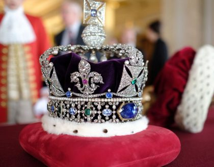 Imperial Crown at Tower of London