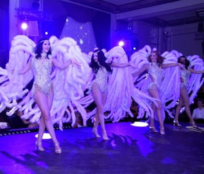 Dancers from London Cabaret Club