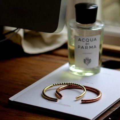 Oscar brass bracelet