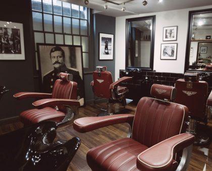 Pankhurst barbershop London