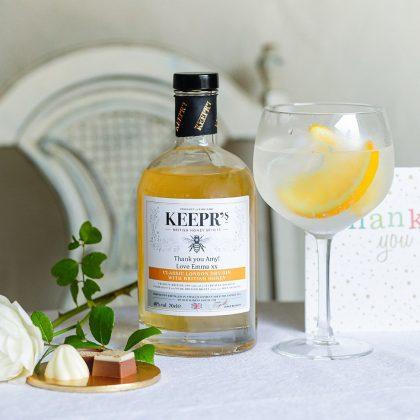 Personalised London Honey Dry Gin