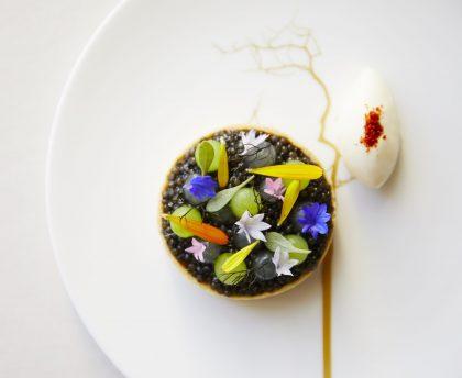 Restaurant Coworth Park-Caviar tart
