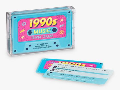 Ridley's 1990's Music Trivia Game