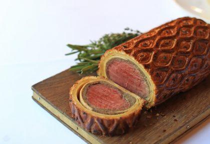 Gordon Ramsays Savoy Grill Beef Wellington