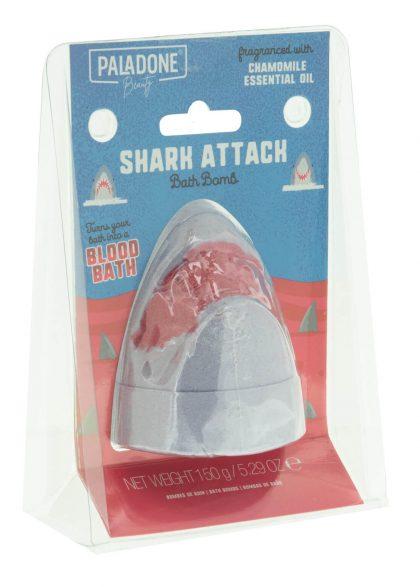 Shark attack bath bomb