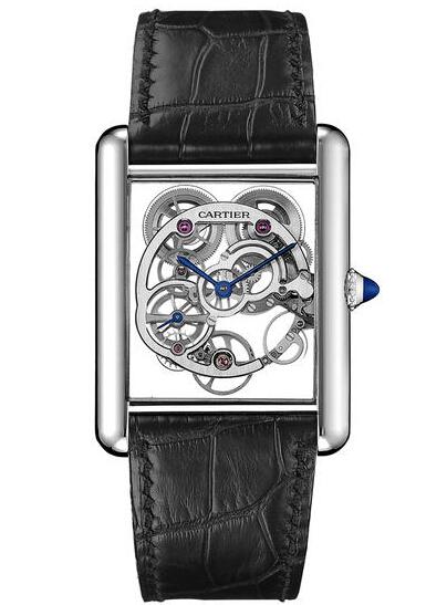 Tank Louis Carier Skeleton Sapphire Watch