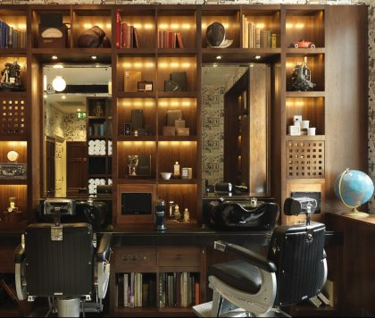 Barber at Alfred Dunhill