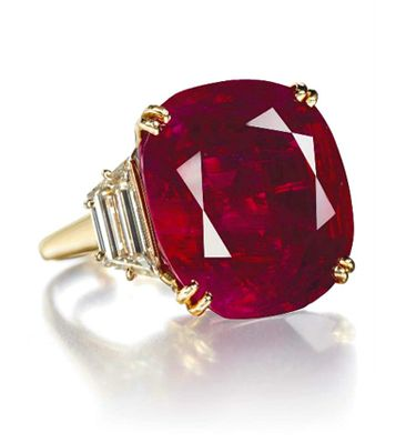 The most expensive ruby, The Hope Ruby