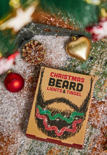 Christmas bard and tinsel funny Secret Santa gift