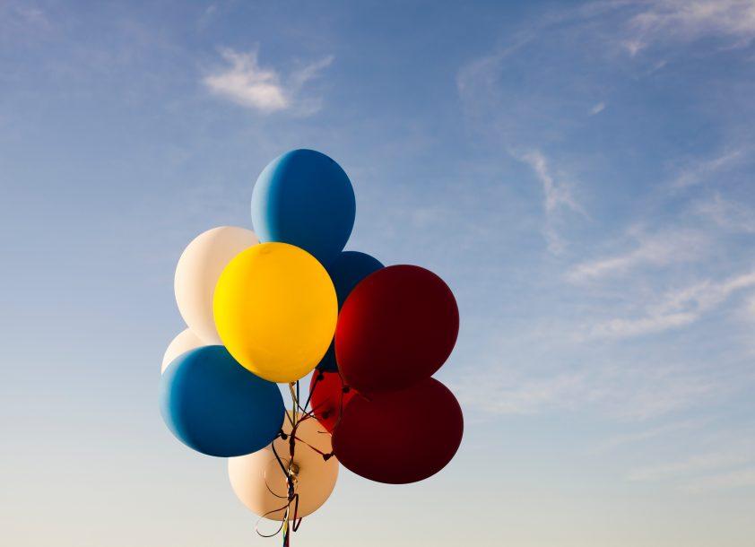 Balloons - Happy birthday dad in heaven