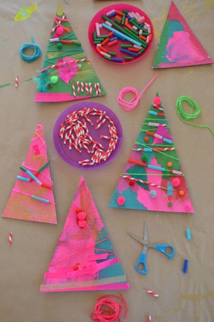 Christmas Tree Assemblage