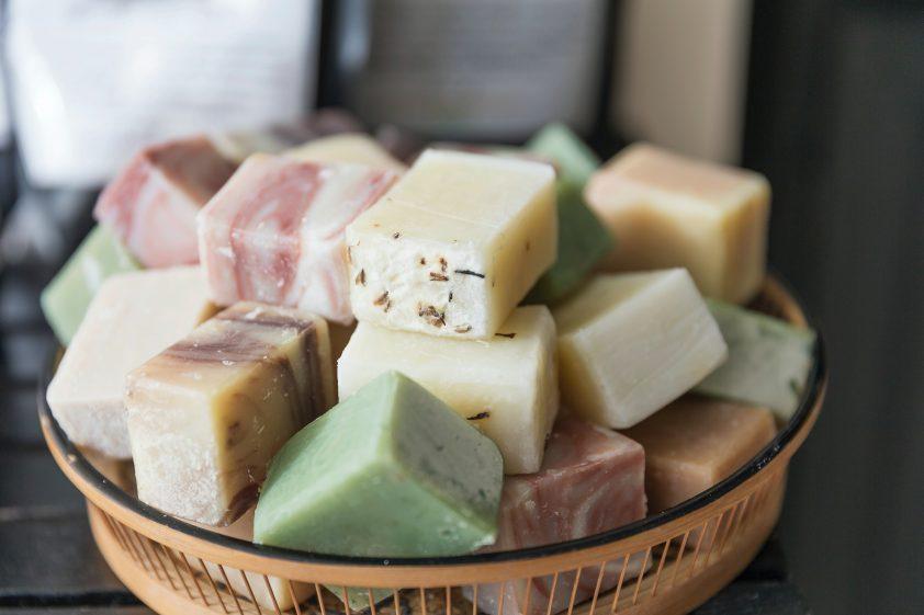 Homemade hemp soap, the perfect DIY christmas gift