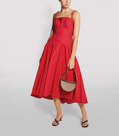 Proenza Schoulder pleated midi dress