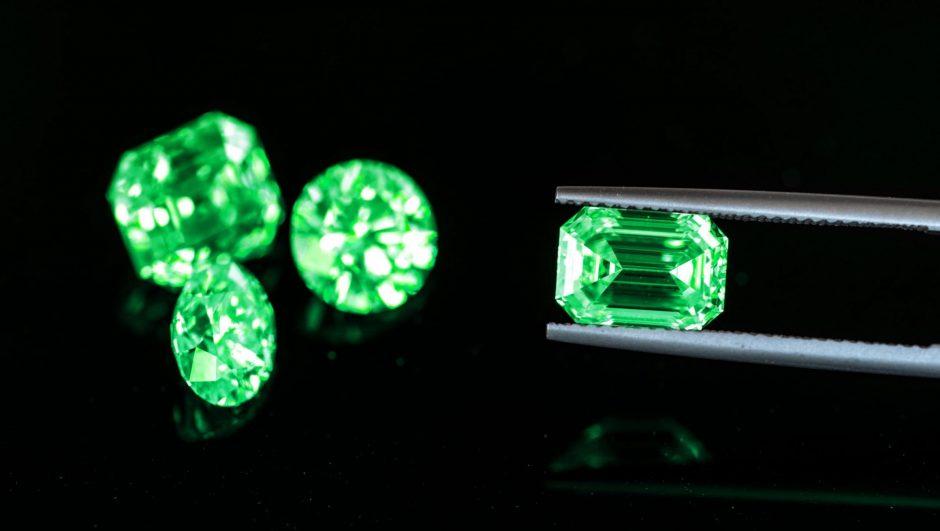 List of green gemstones