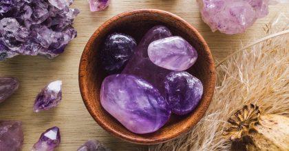 List of purple gemstones