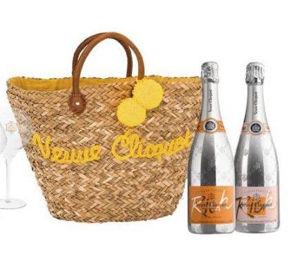Veuve Clicquot Champagne Rich Summer Basket Set
