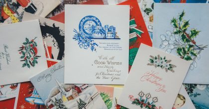 Where to recycle Christmas cards