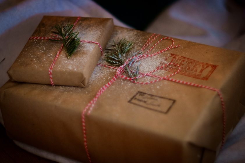 Eco-Friendly Christmas wrapping paper