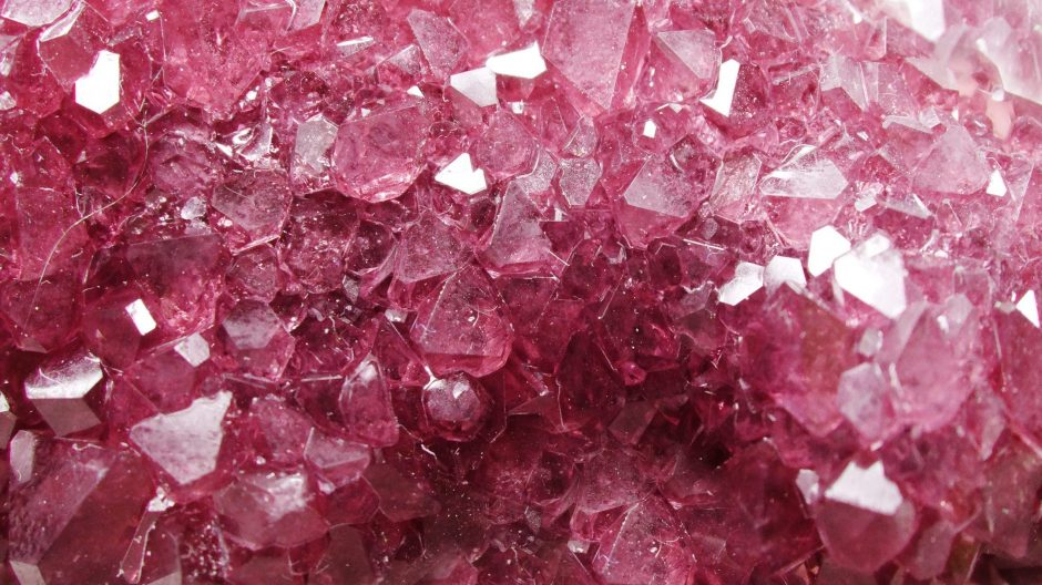 pink tourmaline natural quartz gem geological crystals texture