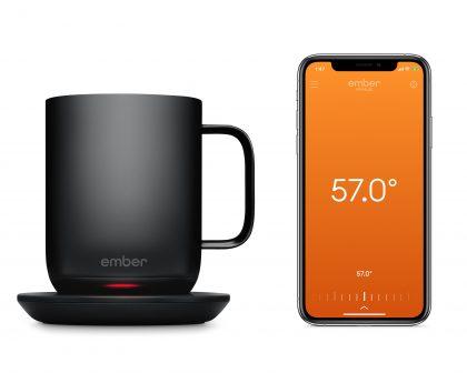 Temperature-controlled smart mug, Ember 2