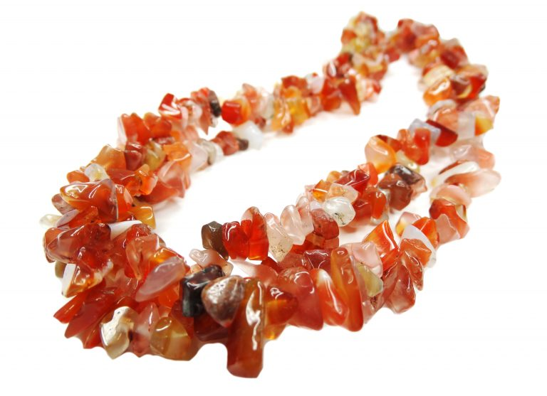 carnelian gemstone beads necklace jewelry