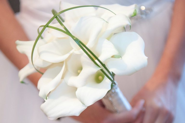 Calla Lily – Crystal Clear bouquet