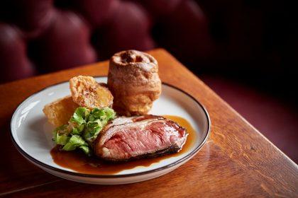 Michelin star pub food at Hind's Head