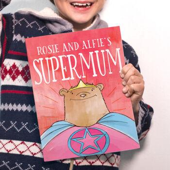Personalised Supermum Book
