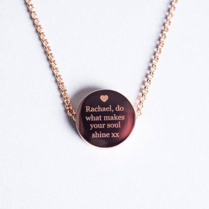 personalised-necklace---rose-gold-disc