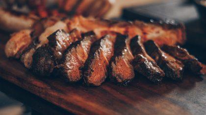steak for birthday dinner celebration